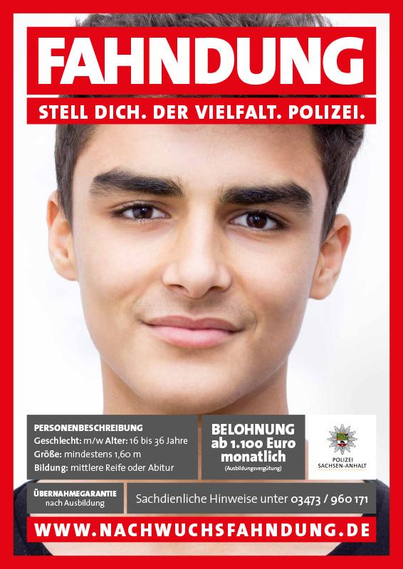 Fahndung Polizei Sachen Anhalt Stell Dich Der Vielfalt Polizei